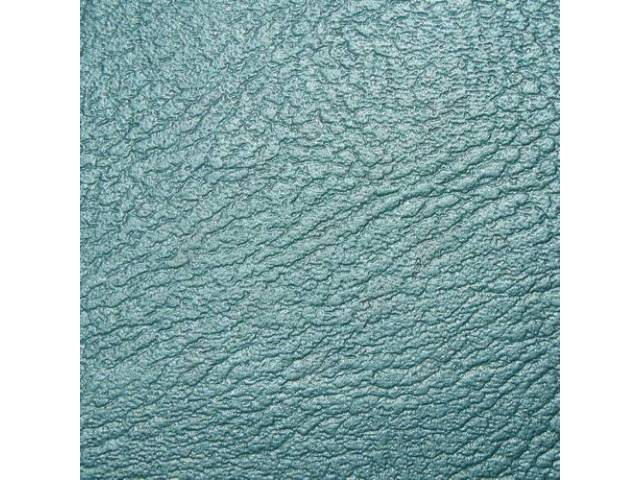 UPHOLSTERY SET, Rear Seat, Light Aqua (actual color,