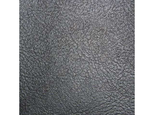 Upholstery Set Rear Seat Black Pui Madrid Grain