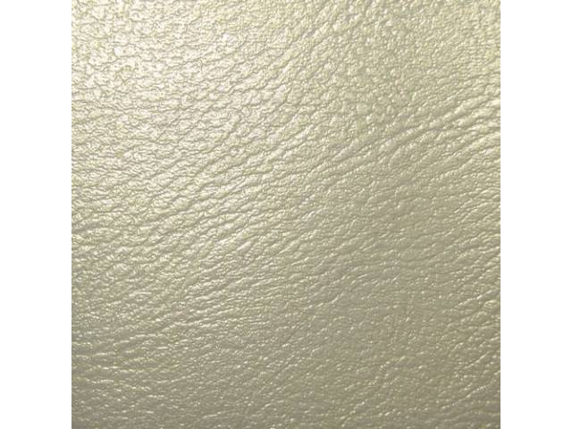 Upholstery Set Rear Seat Parchment Pui Madrid Grain