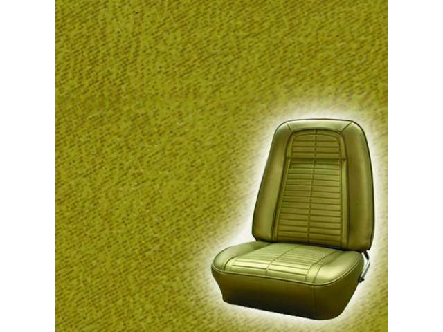 Upholstery Set Rear Seat Mustard Gold Actual Color