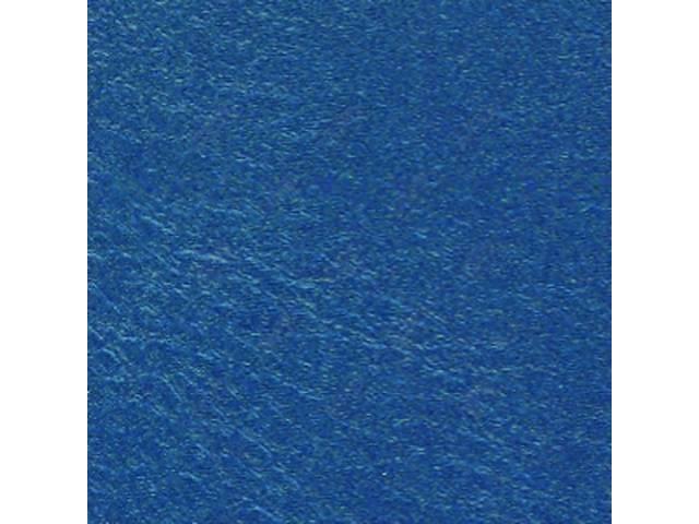 Upholstery Set Premium Rear Seat Dark Metallic Blue