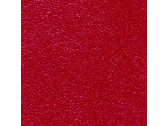 UPHOLSTERY SET, Premium, Rear Seat, Metallic Red (actual