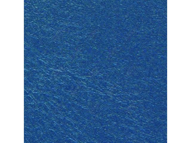 UPHOLSTERY SET, Premium, Rear Seat, Dark Metallic Blue