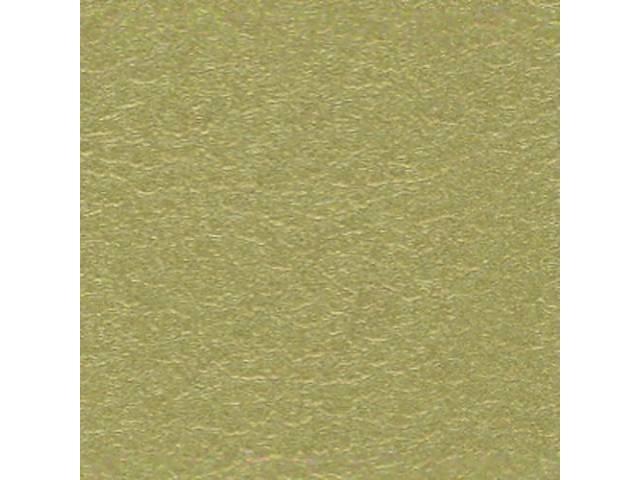 Upholstery Set Premium Rear Seat Metallic Gold Actual