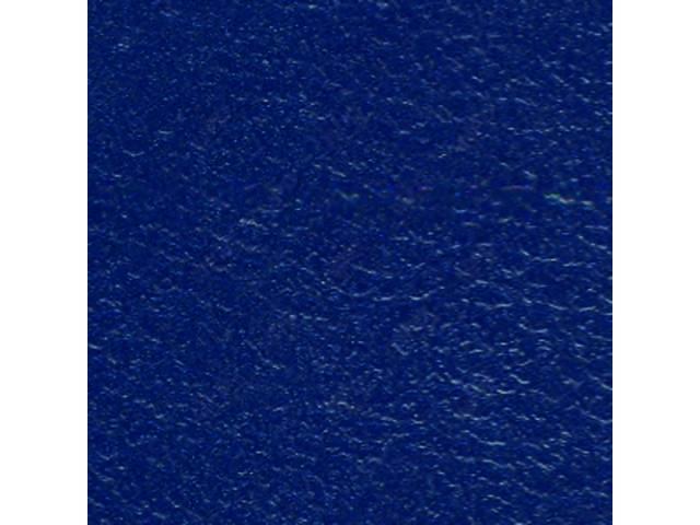 Upholstery Set Premium Rear Seat Metallic Blue Actual
