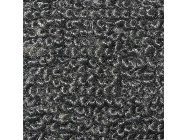 Carpet Raylon Loop Style Two Piece Gunmetal Gray