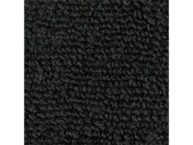 Carpet Raylon Loop Style Two Piece Black M/T