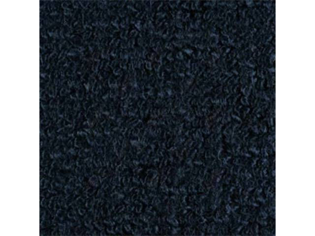 Carpet Raylon Loop Style Two Piece Dark Blue