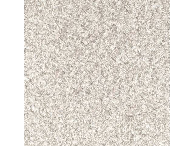 Carpet Cut Pile Two Piece White