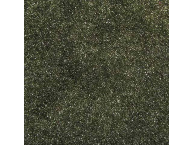 Carpet Cut Pile Two Piece Green Lighter Than