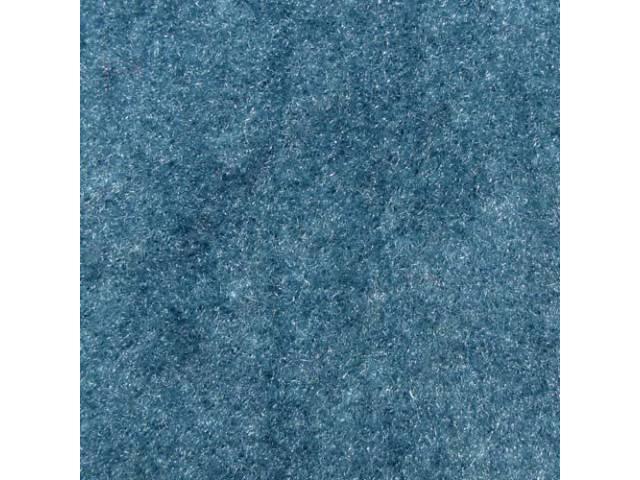 Carpet Cut Pile One Piece Blue Darker Than
