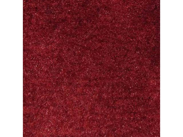 Carpet Cut Pile One Piece Carmine Medium Red