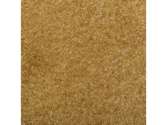 Carpet Cut Pile One Piece Camel Tan