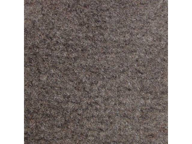 Carpet Door Panel Gray