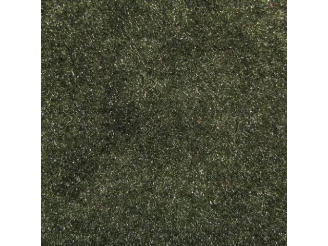 Carpet Door Panel Green