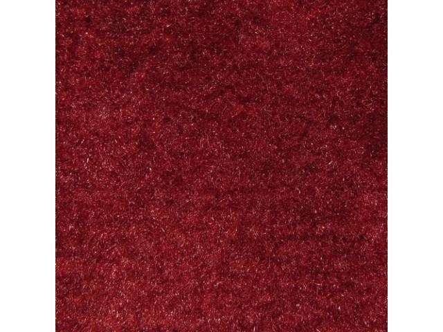 Carpet Door Panel Carmine Medium Red