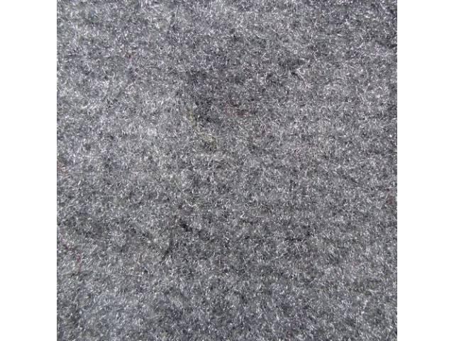 Carpet Door Panel Dove Dark Gray