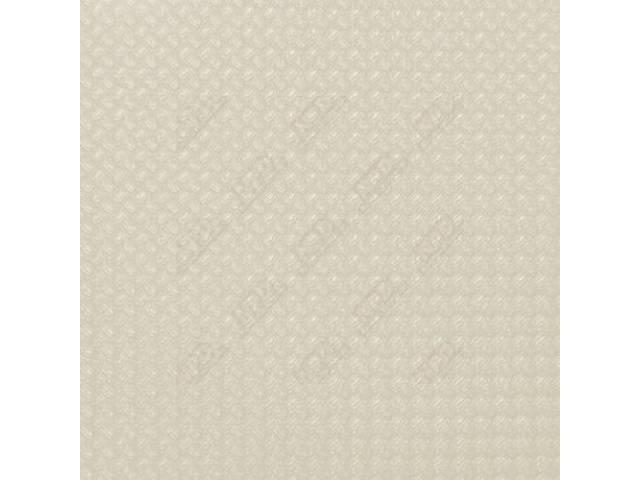 HEADLINER, Basketweave Grain, White, incl headliner, material to