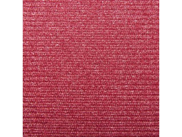 Headliner Cloth W/ Foam Backing Claret Incl Abs-Plastic