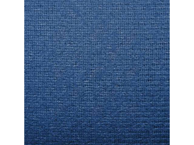 Headliner Cloth W/ Foam Backing Adriatic Blue /
