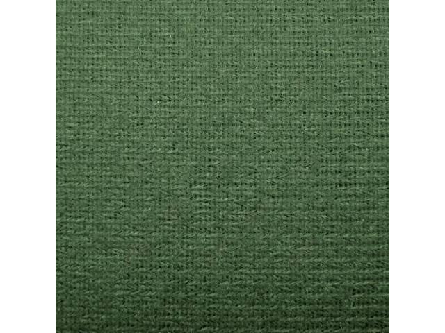 Headliner Cloth W/ Foam Backing Medium Sage Green