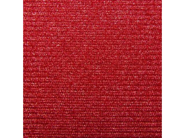Headliner Cloth W/ Foam Backing Garnet Repro Use