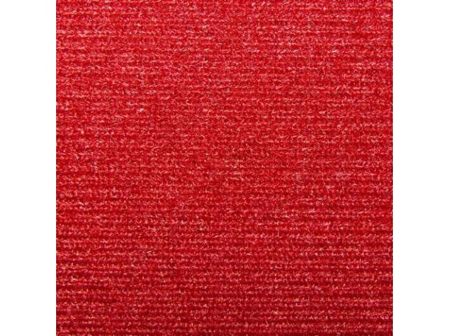 Headliner Cloth W/ Foam Backing Carmine Repro Use