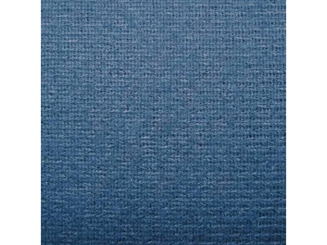 Headliner Cloth W/ Foam Backing Dark Blue Repro