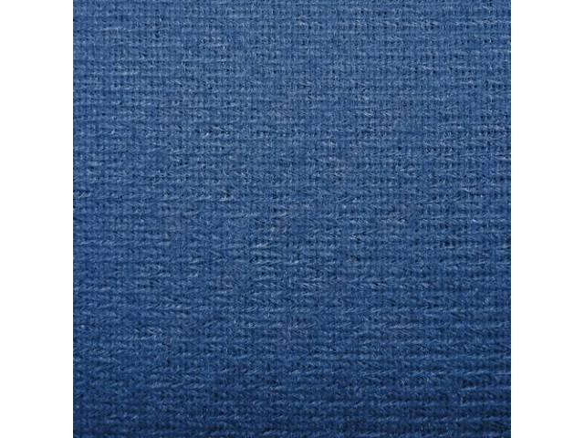 Headliner Cloth W/ Foam Backing Royal Blue Repro