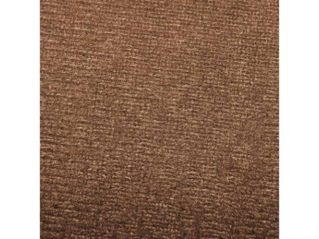 Headliner Cloth W/ Foam Backing Briar Brown Repro