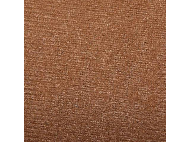 HEADLINER, Cloth W/ Foam Backing, Sand Beige / Light Tan, Repro   ** Use w/ headliner board (re-use original or see p/n C-HLB-101A) **