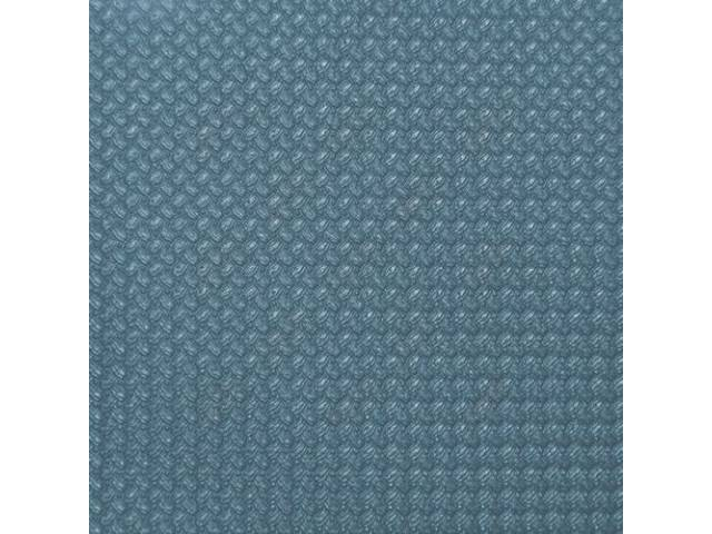 HEADLINER KIT, Basketweave Grain, Light Blue, 3 Bow, incl headliner, covered sail panels and material to cover one pair of sunvisors, Repro