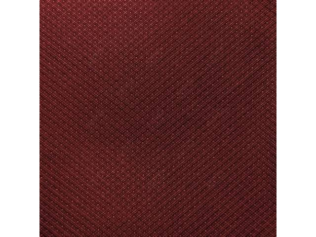 Headliner Kit Tier Grain Dark Red Incl Headliner