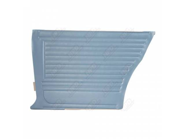 Panel Set Inside Quarter Std Light Blue Pui
