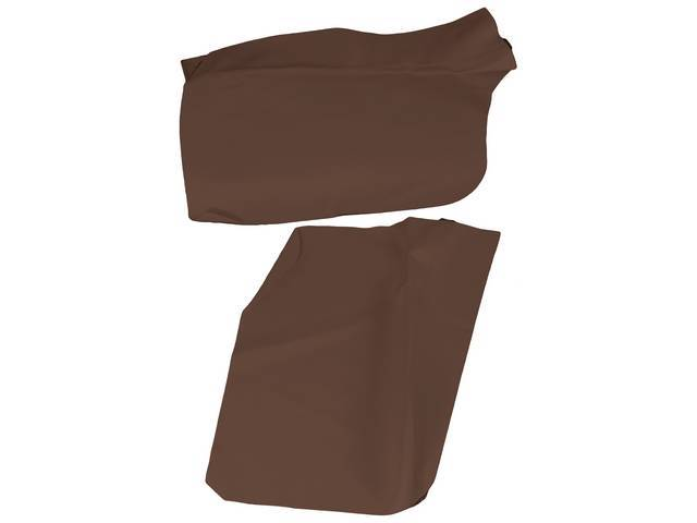 ARM REST COVER SET, Inside Quarter, Dark Saddle,