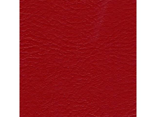 ARM REST COVER SET, Premium, Inside Quarter, Red,