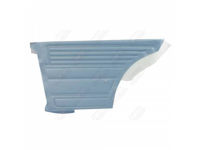 Panel Set Inside Quarter Std Light Blue Platinum