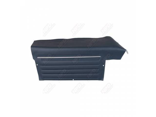 Panel Set Inside Quarter Std Dark Blue Platinum