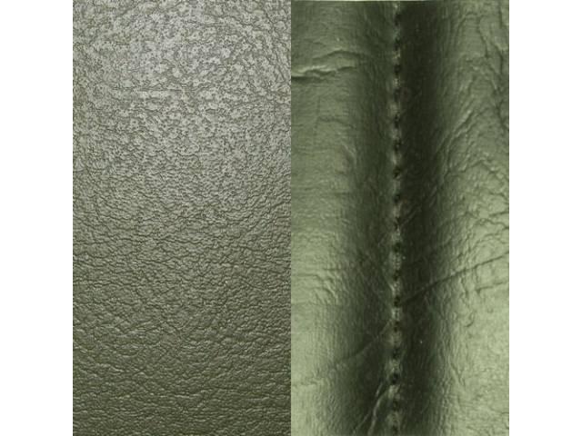 Upholstery Set Front Swivel Buckets Jade Green Pui