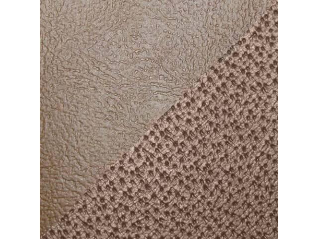 Upholstery Set Front Buckets Camel Pui Sierra Grain