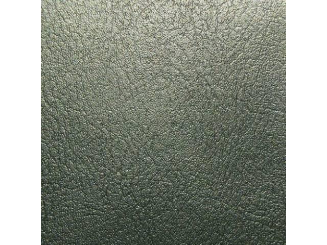 Upholstery Set Front Buckets Dark Green Metallic Pui