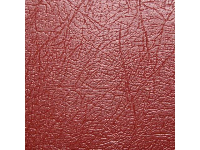 Upholstery Set Premium Front Buckets Red Seville Grain