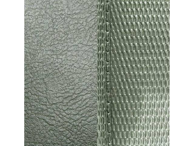 Upholstery Set Premium Front Buckets Dark Metallic Green