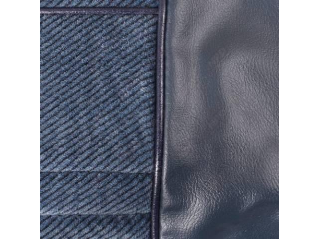 Upholstery Set Front Bench 50-50 Split Back W/