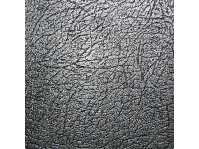 Upholstery Set Rear Seat Black Seville Grain Vinyl