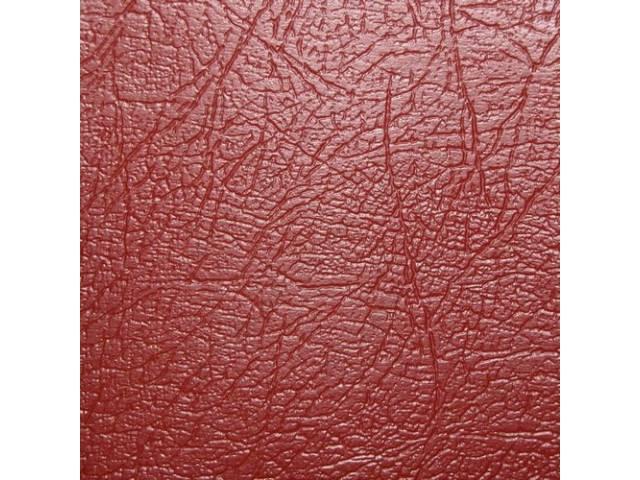 Upholstery Set Rear Seat Red Seville Grain Vinyl