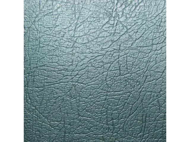 Upholstery Set Rear Seat Aqua Seville Grain Vinyl