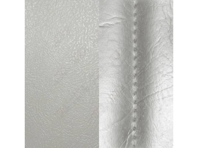 Upholstery Set Rear Seat White Sierra Grain Vinyl