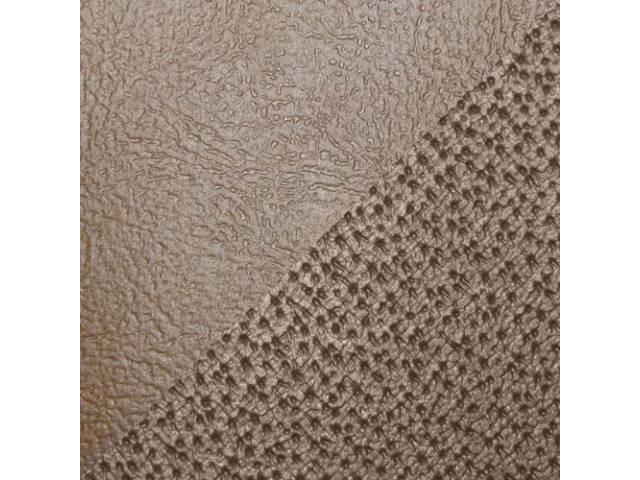 Upholstery Set Rear Seat Camel Sierra Grain Vinyl