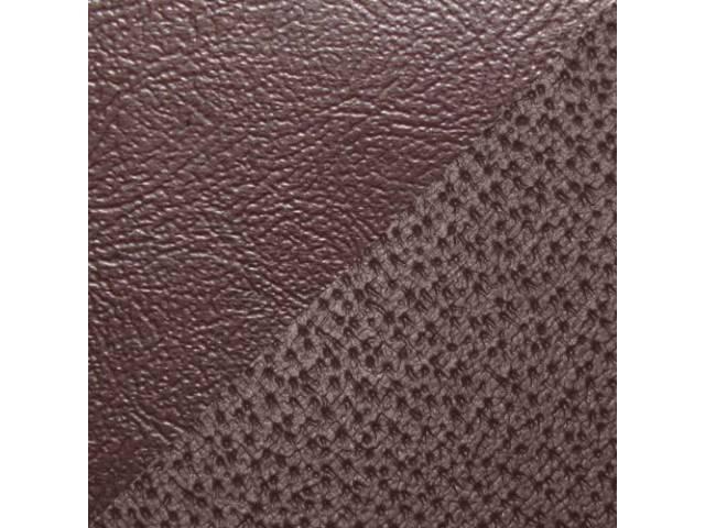 Upholstery Set Rear Seat Claret Sierra Grain Vinyl
